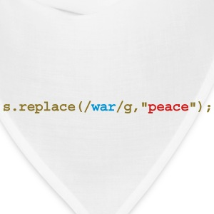replace war with peace Kids' Shirts - Bandana