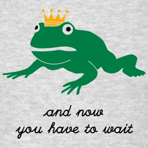grumpy frog prince - waiting Hoodies - Men's T-Shirt