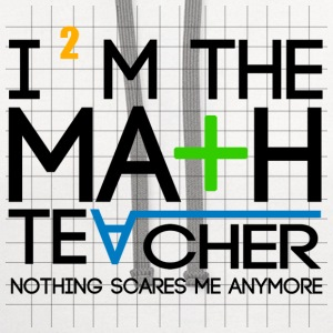 I'm The Math Teacher - Contrast Hoodie