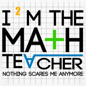 I'm The Math Teacher - Men's Premium Long Sleeve T-Shirt