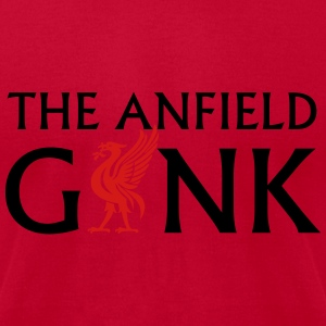 THE ANFIELD GANK Long Sleeve Shirts - Men's T-Shirt by American Apparel