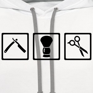 Barber T-Shirts - Contrast Hoodie