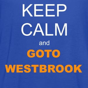 Kid's T-shirt - Keep Calm and Westbrook - Women's Flowy Tank Top by Bella