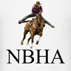 Barrel Racer: NBHA Tanks - Men's T-Shirt