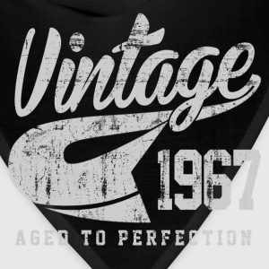Vintage 1967 Aged To Perfection - Bandana