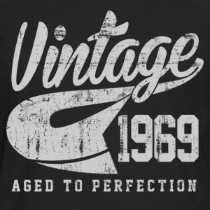 Vintage 1969 Aged To Perfection - Men's Premium Long Sleeve T-Shirt