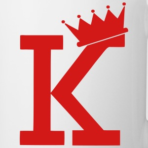 K CROWN T-Shirts - Coffee/Tea Mug