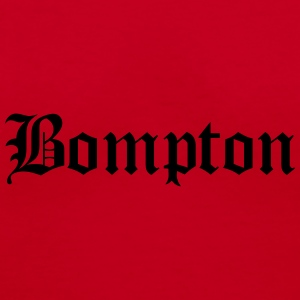 bompton Caps - Women's V-Neck T-Shirt