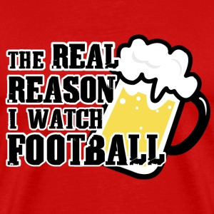 REAL REASON FOOTBALL Tanks - Men's Premium T-Shirt