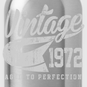 Vintage 1972 Aged To Perfection - Water Bottle