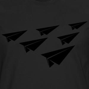 Paper Squadron Shirt - Men's Premium Long Sleeve T-Shirt