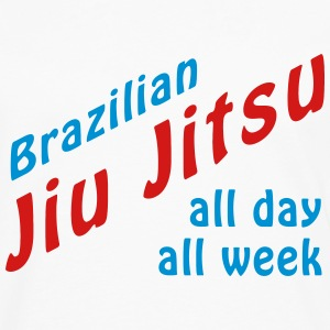BJJ All Day T-Shirts - Men's Premium Long Sleeve T-Shirt