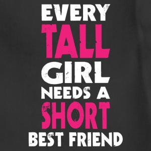 (TALL GIRL - SHORT GIRL) BFF Women's T-Shirts - Adjustable Apron