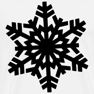 Snowflake Hoodies - Men's Premium T-Shirt