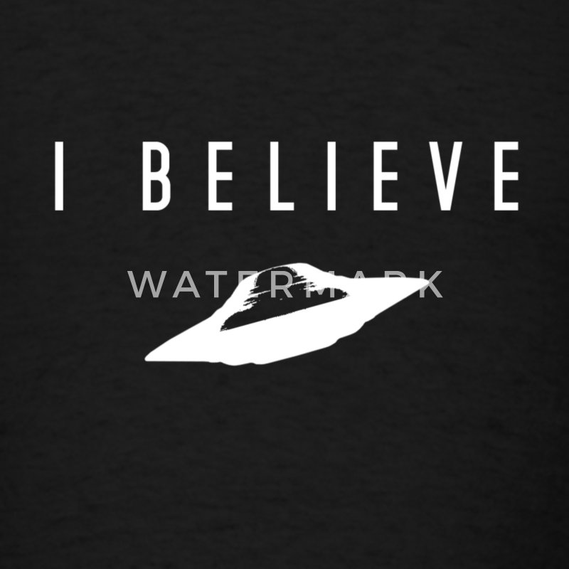 UFO I Believe - Men's T-Shirt