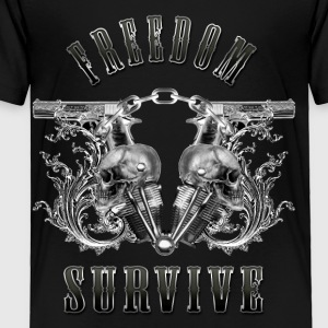 Freedom Survive Kids' Shirts - Toddler Premium T-Shirt