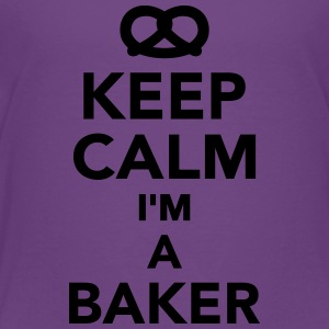 Keep calm I'm a Baker Kids' Shirts - Toddler Premium T-Shirt
