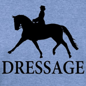 Dressage Horse - Black Women's T-Shirts - Women's Wideneck Sweatshirt