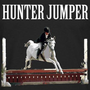 HunterJumper2HunterJumper - White Women's T-Shirts - Men's Premium Long Sleeve T-Shirt