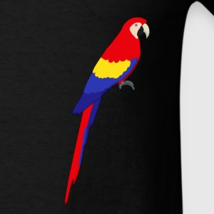 red parrot Bags & backpacks - Men's T-Shirt