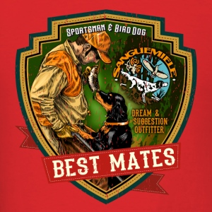 best mates Hoodies - Men's T-Shirt
