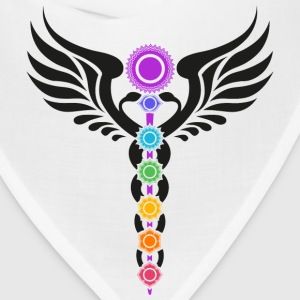 Kundalini, Chakras, Winged Serpent, Cosmic Energy T-Shirts - Bandana