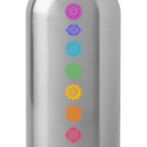 7 Chakras, Kundalini, Cosmic Energy Centers Women's T-Shirts - Water Bottle