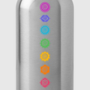 7 Chakras, Kundalini, Cosmic Energy Centers T-Shirts - Water Bottle