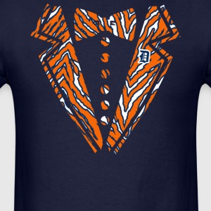 Tiger Tuxedo Hoodies - Men's T-Shirt