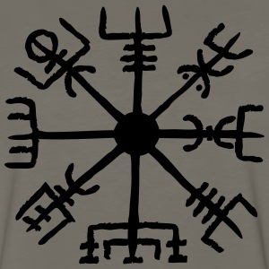 Vegvisir, celtic, runes T-Shirts - Men's Premium Long Sleeve T-Shirt