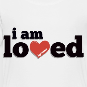 I am Loved by Jesus Kids' Long Sleeve T-Shirt - Toddler Premium T-Shirt