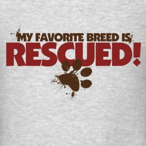 Rescue dogs - Men's T-Shirt
