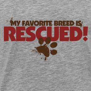 Rescue dogs - Men's Premium T-Shirt