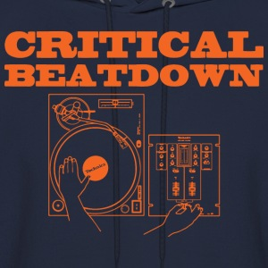 critical beatdown T-Shirts - Men's Hoodie