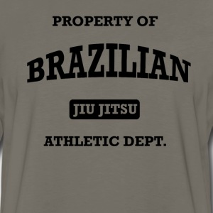 Athletic Brazilian Jiu Jitsu T-Shirts - Men's Premium Long Sleeve T-Shirt