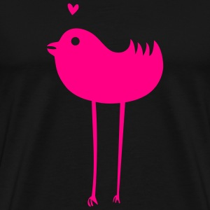 COUPLE BIRD WOMEN - Men's Premium T-Shirt