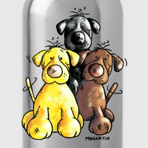 Funny Labrador Retriever - Dog  T-Shirts - Water Bottle