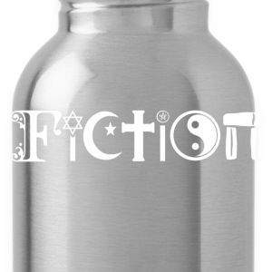 fiction_black.png T-Shirts - Water Bottle