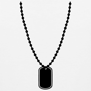 Dog tag T-Shirts - Men's Premium Tank