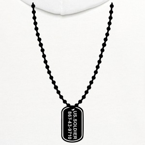 Dog tag T-Shirts - Contrast Hoodie