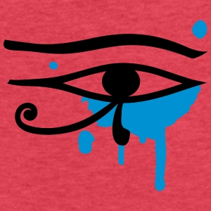 The Eye of Horus  Tanks - Fitted Cotton/Poly T-Shirt by Next Level