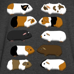10 guinea pigs Long Sleeve Shirts - Men's V-Neck T-Shirt by Canvas