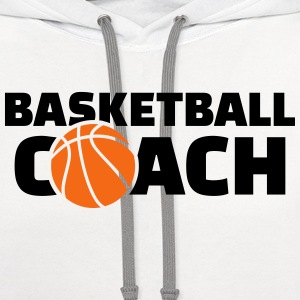 Basketball coach Women's T-Shirts - Contrast Hoodie