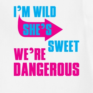 i Am Wild She is Sweet We Are Dangerous Women's T-Shirts - Adjustable Apron