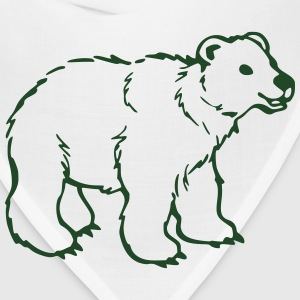 Bear T-Shirts - Bandana