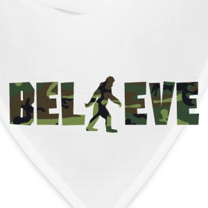 Camouflage Believe Bigfoot - Bandana