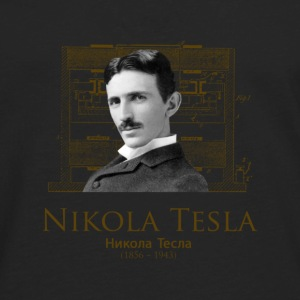 Nikola Tesla - Men's Premium Long Sleeve T-Shirt
