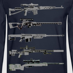 Sniper Rifles - Men's Long Sleeve T-Shirt