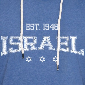 Israel-white T-Shirts - Unisex Lightweight Terry Hoodie