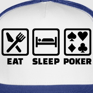 Eat Sleep Poker T-Shirts - Trucker Cap